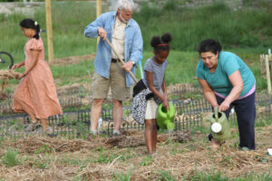 Community Garden in Paoli Indiana